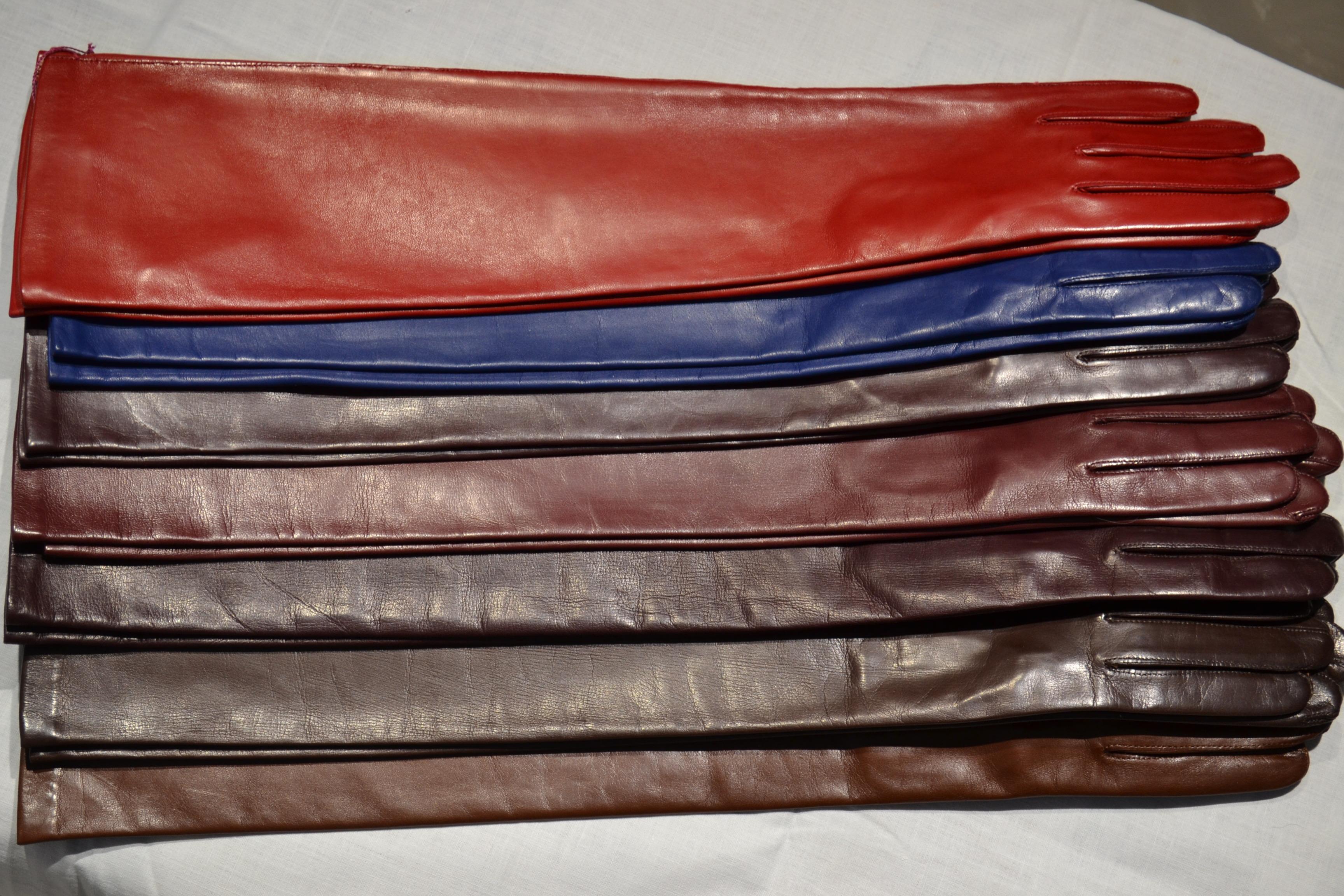 Качественные кожаные перчатки